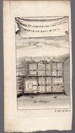 (nde) Palais Et Jardins De Cha Sou Sa, Prince De Ragi Mohol  (gravure Ancienne Originale) (PPP16783) - Vieux Papiers