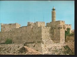 ISRAEL JERUSALEM THE CITADEL CITADELLE 1963 - Israel
