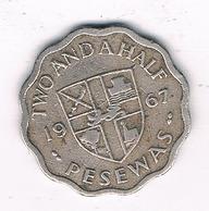 10 PESEWAS 1967 GHANA /0386/ - Ghana
