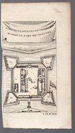(nde)Fort Hollandois De Paliacate Nommé Fort De Gueldre  (gravure Ancienne Originale) (PPP16784) - Vieux Papiers
