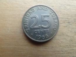Trinite & Tobago  25  Cents  1966  Km 4 - Trinité & Tobago