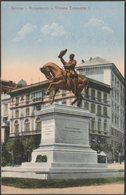 Monumento A Vittorio Emanuele II, Genova, C.1905 - Stengel & Co Cartolina - Genova (Genoa)