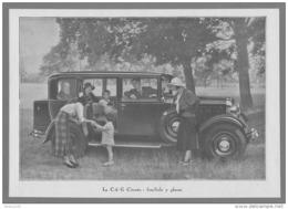 LA  C- 6 G CITROËN FAMILIALE 7 PLACES - 16 X 23 Cm - Cars