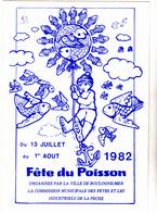 62  BOULOGNE SUR MER  - Fete Du Poisson   - CPM  10.5x15  TBE Neuve - Boulogne Sur Mer