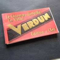 VERDUN - LE CHAMP DE BATAILLE - LA VILLE - 20 CARTES - BOOKLET - Cartoline