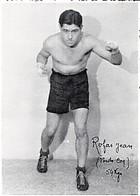 LE BOXEUR < ROFAS JEAN - POIDS COQ (54 Kg) - Boxing
