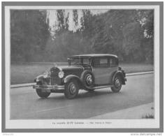 LA NOUVELLE 20 CV LORRAINE - 14,5 X 18 Cm - Cars