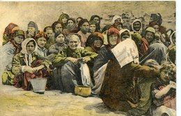 336. CPA GRECE. REFUGIEES GRECQUES ORIGINAIRES DE L'ASIE MINEURE. SALONIQUE 1918 - Griechenland