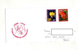 Lettre Cachet ? Sur Fleur - French Polynesia