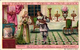 0965 Liebig 6 Cards- C1909  Opera La Traviata - Verdi-Rodolphe-Violetta- - Liebig