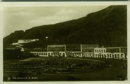 YEMEN - ADEN - THE CRESCENT - EDIT PALLONJEE DINSHAW & CO.  - RPPC POSTCARD 1930s/40s (BG1985) - Yémen
