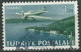 Turquie -   Aérien   -  Yvert  N°  17 Oblitéré    -  Abc 30606 - 1921-... République