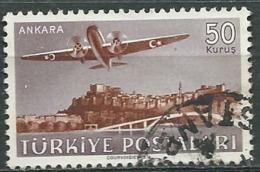 Turquie -   Aérien   -  Yvert  N°  16 Oblitéré    -  Abc 30607 - 1921-... République