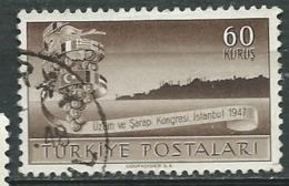 Turquie - -  Yvert  N°   1056  Oblittéré    -  Abc 30631 - 1921-... République