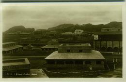 YEMEN - ADEN - B.I. LINES CRATER - EDIT PALLONJEE DINSHAW & CO.  - RPPC POSTCARD 1930s/40s (BG1986) - Yémen