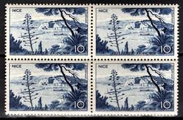 FRANCE 1955 - BLOC DE 4 TP  Y.T. N° 1038 - NEUFS** - France