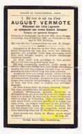 DP Schepen Bekegem Ichtegem - August Vermote ° Aartrijke Zedelgem 1863 † Brugge 1929 X J. LaGrande Xx S. DeKeyzer - Images Religieuses