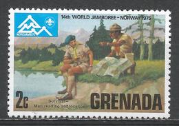 Grenada 1975. Scott #646 (MNH) Boy Scout World Jamboree * - Grenade (1974-...)