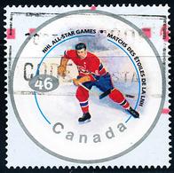 Canada (Scott No.1838c - NHL All Star) (o) - 1952-.... Règne D'Elizabeth II