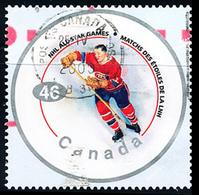 Canada (Scott No.1838d - NHL All Star) (o) - 1952-.... Règne D'Elizabeth II