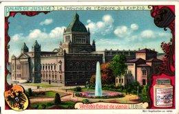 0966 Liebig 6 Cards- C1909  Law Courts-Palaid De Justice-Bruxelles-Paris-Leipzig-Vienne-Londres-Rome - Liebig