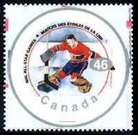 Canada (Scott No.1838f - NHL All Star) (o) - 1952-.... Règne D'Elizabeth II