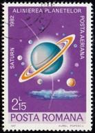 ROMANIA - Scott #C236 Saturn / Used Stamp - Airmail