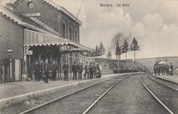 Bovigny (Gouvy) Intérieur De La Gare , Statie , Station , Très Animée ( Edit: Joseph Derouane à Honvelez ) - Gouvy