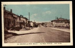51 LA GRANGE AUX BOIS (Marne) - Route Nationale - Côté Verdun - Otros Municipios