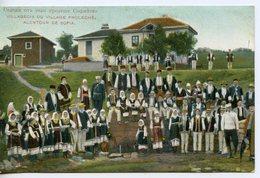 339. CPA BULGARIE. VILLAGEOIS DU VILLAGE PROLECHE ALENTOUR DE SOFIA. KNIAJEVO 1919 - Bulgaria