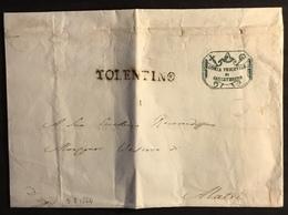 1854 S. SEVERINO PER ALATRI - Italy