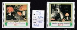 2 Timbres Neufs** Guinée équatoriale, N° 1137 Et 1139 Michel  Champignon - Pilze