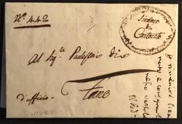 1812 CARTOCETO PER FANO - Italy