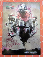 GIRO D'ITALIA FIGHT FOR PINK 2010 PROMOCARD - Cyclisme