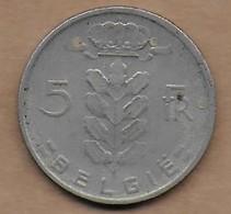 5 Francs 1968 FL - 1951-1993: Baudouin I