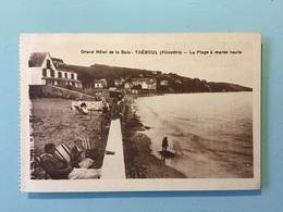 TRÉBOUL - Grand Hôtel De La Baie - La Plage à Marée Haute - Tréboul