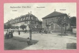 67 - GRUSS Aus BUCHSWEILER - BOUXWILLER - Neubau - Hauptstrasse - Synagoge - Synagogue - Judaica - Bouxwiller