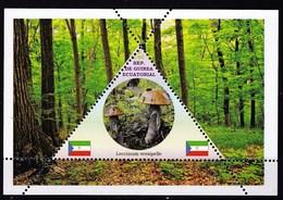 Feuillet Neuf** Guinée équatoriale  Champignon Leccinum Versipelle - Champignons