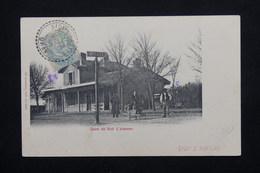 FRANCE - Oblitération De Sidi L 'Hassen Sur Carte Postale ( La Gare) Pour La France -  L 20940 - 1877-1920: Période Semi Moderne