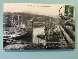 BREST — Vue Sur Le Port Militaire - Brest