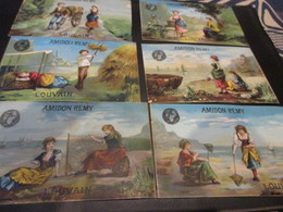 6 Chromo's Amidon Remy, Louvain - Autres