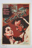 Original 1938 Gibraltar Cinema / Movie Advt Brochure - Viviane Romance, Roger Duchesne, Abel Jacquin - Publicité Cinématographique