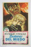 Original 1951 Native Son Cinema / Movie Advt Brochure - Richard Wright,  Jean Wallace,  Nicholas Joy - Publicité Cinématographique