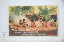 Original 1941 Jungle Girl Cinema / Movie Advt Brochure - RONALD DAVIDSON, NORMAN S. HALL, WILLIAM LIVELY - Publicité Cinématographique