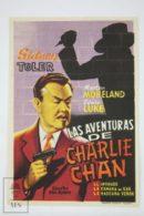 Original 1940 Charlie Chan In Panama Cinema / Movie Advt Brochure - Sidney Toler,  Jean Rogers,  Lionel Atwill - Publicité Cinématographique