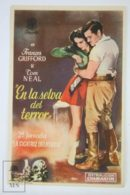 Original 1941 Jungle Girl Cinema / Movie Advt Brochure - FRANCES GIFFORD, TOM NEAL, TREVOR BARDETTE, GERALD MOHR - Publicité Cinématographique