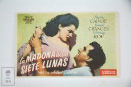 Original 1945 Madonna Of The Seven Moons Cinema / Movie Advt Brochure - Phyllis Calvert,  Stewart Granger,  Patricia Roc - Publicité Cinématographique