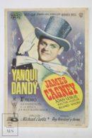 Original 1942 Yankee Doodle Dandy Cinema / Movie Advt Brochure - James Cagney,  Joan Leslie,  Walter Huston - Publicité Cinématographique