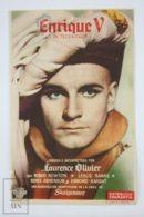 Original 1944 Henry V Cinema / Movie Advt Brochure - Laurence Olivier, Robert Newton, Leslie Banks - Publicité Cinématographique