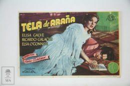 Original 1947 El Misterioso Tío Sylas Cinema / Movie Advt Brochure - Elsa O'Connor,  Elisa Galvé,  Francisco De Paula - Publicité Cinématographique